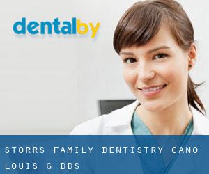 Storrs Family Dentistry: Cano Louis G DDS